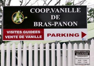 Coopérative de vanille de Bras-Panon