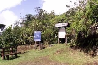 Départ du Sentier de L'Eden