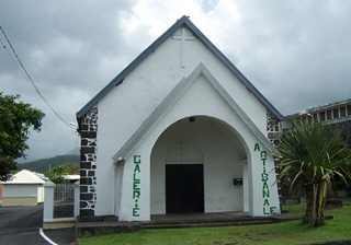 Ancienne église Saint-Jean Baptiste à Bras-Panon La Réunion