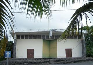 Nouvelle église Saint-Jean Baptiste à Bras-Panon La Réunion