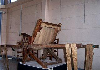 Chaise à porteurs.