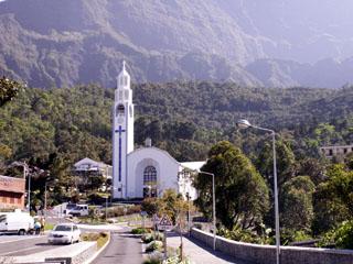 Église Notre Dame des Neiges à Cilaos La Réunion
