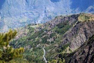 Route de Cilaos La Réunion.