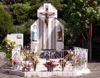 Tombe du Père Boiteau à Cilaos La Réunion.