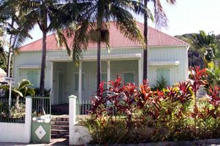 Case créole Entre-Deux île de La Réunion