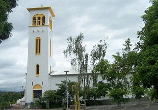 Église Saint-Vincent de Paul à l' Entre-Deux île de La Réunion