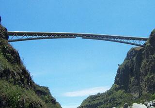 Pont Bras de La Plaine Entre-Deux La Réunion.
