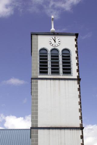 Église Saint-Dominique à l'étang-Salé île de La Réunion