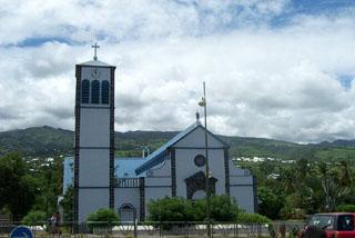 Photo : église Saint-Dominique étang-salé île de La Réunion