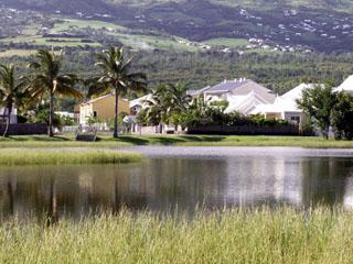 Ancien marais salant étang-salé La Réunion.
