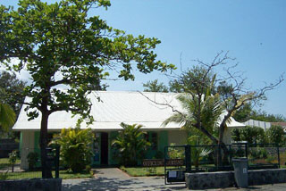 Photo ancienne gare étang-salé île de La Réunion