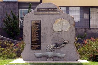 Monument aux morts étang-salé île de La Réunion