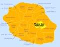 Carte gîte Plaine des Palmistes La Réunion