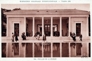 1931 Pavillon de La Réunion à l'exposition coloniale internationale