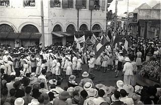 8 mai 1945 : Fête de la Victoire à Saint-Denis de La Réunion