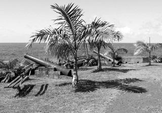 batterie côtière de Sainte-Rose La Réunion