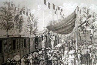 1882 Inauguration du chemin de fer de La Réunion