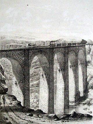 Chemin de Fer pont la Petite Ravine Saint-Leu