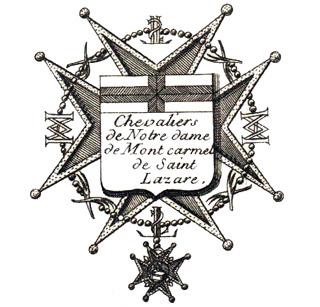 Chevalier de Notre-Dame du Mont-Carmel et de Saint-Lazare de jérusalem