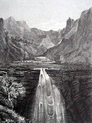 Cascade du Bras de Benjoin Cilaos.