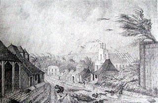 Cyclone sur Saint-Benoît