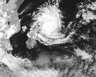 Cyclone sur La Réunion