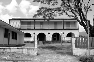 Ancienne école rivière du Mât Bras-Panon.