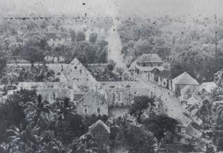 Incendie 1905 église de Saint-Paul
