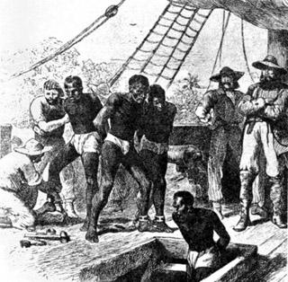 Embarquement des esclaves