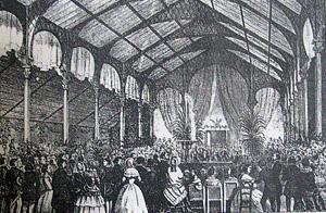 Exposition des produits de l'agriculture et de l'industrie 1854 à Saint-Denis