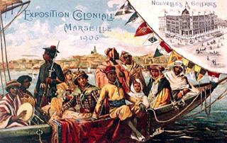 Exposition Colonial à Marseille en 1906