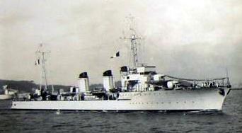 Le Léopard Contre torpilleur