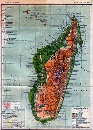 Madagascar en 1895