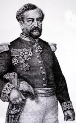 Marie Jules Dupré Gouverneur de La Réunion