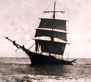Naufrage du voilier le Michel Salustro à Champ-Borne