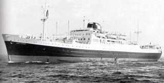 Paquebot Jean Laborde de La Compagnie des messageries maritimes