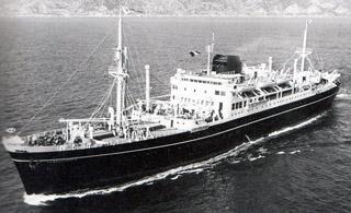 Paquebot La Bourdonnais de La Compagnie des messageries maritimes