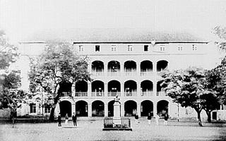 Photographie de Pierre étienne Cuinier Lycée de Saint-Denis