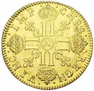 Pile d'un Louis d'or