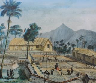 Poste Sainte-Agathe Plaine des Palmistes La Réunion