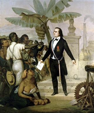 Proclamation abolition Sarda Garriga