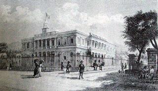 Hôtel de ville de Saint-Denis inauguré le 21 avril 1860