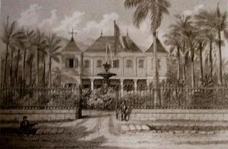 Ancienne mairie Saint-Louis La Réunion