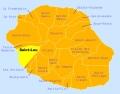 Carte hôtels Saint-Leu La Réunion