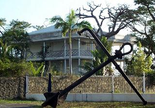 Case créole de la ville du Port île de La Réunion