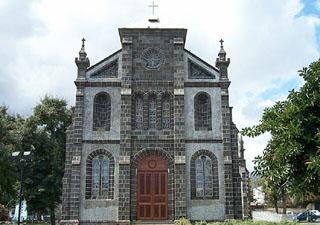 Église Sainte-Jeanne d'Arc ville du Port La Réunion