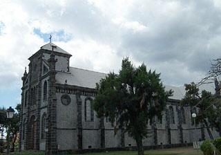 Église Sainte-Jeanne d'Arc ville du Port La Réunion.