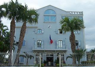 Hôtel de ville Mairie de la ville du Port La Réunion.