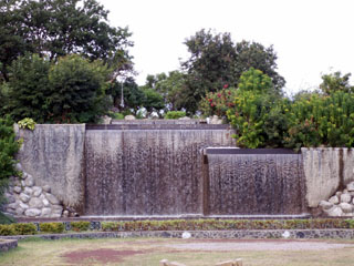 Parc boisé Ville du Port La Réunion.
