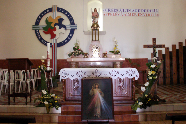 Église des Saints-Anges Bras Pontho La Réunion.